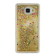 cheap Cases / Covers for Samsung-Case For Samsung Galaxy A5(2016) A3(2016) Flowing Liquid Back Cover Glitter Shine Soft TPU for A5(2016) A3(2016)