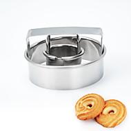 お買い得  キッチン用小物-ベークツール メタル クリスマス / 誕生日 / 新年 クッキー 1個