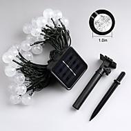 رخيصةأون -jiawen 4.5M 30leds 8 سائط الشمسية في الهواء الطلق للماء أدت سلسلة أضواء