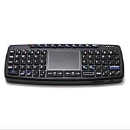 levne -LITBest KB168 Bezdrátová / Bezdrátový 2.4GHz Klávesnice Air Mouse Minii Ticho 69 pcs Klíče