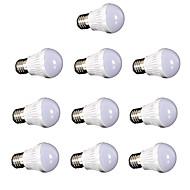 お買い得  LED ボール型電球-10個 250lm E26 / E27 LEDボール型電球 LEDビーズ SMD 2835 装飾用 温白色 クールホワイト 220V 110V