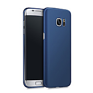 cheap Cell Phone Cases-Case For Samsung Galaxy S7 edge / S7 Shockproof / Ultra-thin Back Cover Solid Colored Hard PC for S7 edge / S7 / S6 edge plus