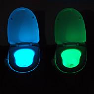 youoklight mozgás aktivált érzékelő WC éjszakai fény, 8 szín-ciklus, pisilni boldog