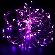 10m 100 주도 구리 와이어 라이트 문자열 별빛 전원 어댑터 (ukuseuau 플러그) 축제 빛을 주도