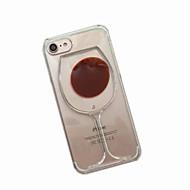 Кейс для Назначение Apple iPhone X iPhone 8 iPhone 7 iPhone 6 Кейс для iPhone 5 Движущаяся жидкость Задняя крышка Мультипликация Мягкий