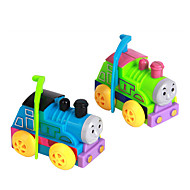 cheap Classic Toys-Wind-up Toy Toys Novelty Train Plastic 1 Pieces Boys' Girls' Christmas Birthday Children's Day Gift