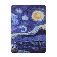 のために カードホルダー 折りたたみ式 ケース フルボディー ケース 風景 ハード PUレザー のために Apple iPad Air 2 iPad Air