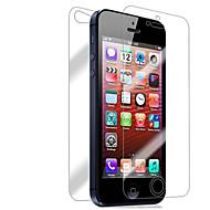 Недорогие Защитные плёнки для экрана iPhone-Защитная плёнка для экрана Apple для iPhone 6s iPhone 6 iPhone SE/5s 10 ед. Защитная пленка для экрана и задней панели