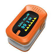 SportGuard dedo oxímetro de pulso SpO2 Monitor de frecuencia cardiaca - Orange