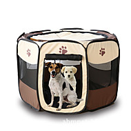 abordables Accesorios para Mascota-Gato Perro Tienda Mascotas Portadores Plegable Caricatura Amarillo Rosa Marrón Rojo Rojo oscuro