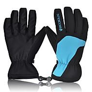 저렴한 -스키 장갑 남성용 여성용 모든 손가락 따뜨하게 유지 방수 빠른 드라이 방풍 스키 겨울
