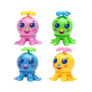 cheap Classic Toys-Wind-up Toy Toys Walking Novelty Fish Octopus Plastic 1 Pieces Boys' Girls' Christmas Birthday Children's Day Gift