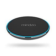 mindzo recharge sans fil pad qi chargeur ultra-mince pour samsung s7 de bord Note 5 nexus 4 5 6 7 nokia lumia 920