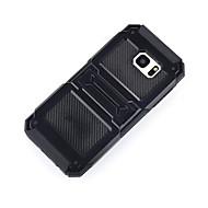 Недорогие Чехлы и кейсы для Galaxy S7 Edge-Кейс для Назначение SSamsung Galaxy S7 edge S7 Защита от удара со стендом Кейс на заднюю панель броня Твердый ПК для S7 edge S7