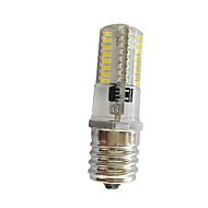 3W E17 Sierlampen T 64 SMD 3014 250-300 lm Warm wit Koel wit K Dimbaar AC220 V