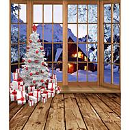 Natal fundo Photo cenários de fotografia de estúdio 5x7ft
