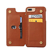 Недорогие Кейсы для iPhone 8 Plus-Кейс для Назначение Apple iPhone 8 iPhone 8 Plus iPhone 6 iPhone 7 Plus iPhone 7 Бумажник для карт Защита от пыли Кейс на заднюю панель