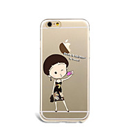 제품 케이스 커버 울트라 씬 패턴 뒷면 커버 케이스 섹시 레이디 소프트 TPU 용 Apple 아이폰 7 플러스 아이폰 (7) iPhone 6s Plus iPhone 6 Plus iPhone 6s 아이폰 6 iPhone SE/5s iPhone 5