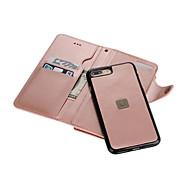 Kompatibilitás iPhone 8 iPhone 8 Plus iPhone 7 iPhone 7 Plus iPhone 6 tokok Pénztárca Kártyatartó Tükör Teljes védelem Case Tömör szín