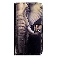 Для Кошелек Бумажник для карт со стендом Флип С узором Магнитный Кейс для Чехол Кейс для Слон Твердый Искусственная кожа для HuaweiHuawei