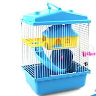 Knaagdieren Hamster Muovi Kooien Koffie Blauw Roze