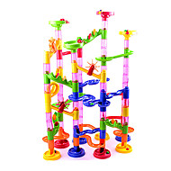 cheap Game Toys-Marble Run Race Construction Marble Track Set Marble Run STEAM Toy Novelty 105 pcs Kid's Unisex Boys' Girls' Toy Gift