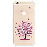 Hülle Für Apple iPhone X iPhone 8 Plus iPhone 7 iPhone 6 iPhone 5 Hülle Muster Rückseitenabdeckung Baum Weich TPU für iPhone X iPhone 8