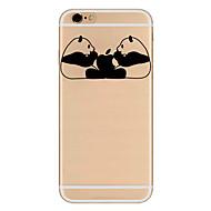 Для Ультратонкий С узором Кейс для Задняя крышка Кейс для Композиция с логотипом Apple Мягкий TPU для AppleiPhone 7 Plus iPhone 7 iPhone