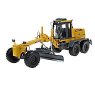 KDW Spielzeugautos Spielzeuge Baustellenfahrzeuge Motor Grader Spielzeuge Einziehbar Einrichtungsartikel Aushebemaschinen Metalllegierung