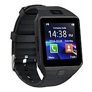 olcso Elektronikai kiegészítők-Intelligens Watch Fényképezőgép Kéz nélküli hívások Bluetooth 3.0 Android SIM kártya