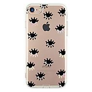 Назначение iPhone X iPhone 8 iPhone 7 iPhone 7 Plus iPhone 6 Чехлы панели Ультратонкий С узором Задняя крышка Кейс для Плитка Мягкий