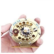 お買い得  釣り用アクセサリー-穴釣りリール リール 穴釣りリール フライリール 1:1 ギア比+1 ボールベアリング 右利きの フライフィッシング 穴釣り その他 一般的な釣り - HB600