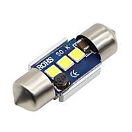 お買い得  -SO.K 2pcs 31mm 車載 電球 3 W SMD 5730 300 lm LED インテリアライト