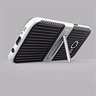 Etui Til Samsung Galaxy S8 Plus S8 Med stativ Bagcover Helfarve Hårdt Karbonfiber for S8 S8 Plus S7 edge S7 S6 edge plus S6 edge S6