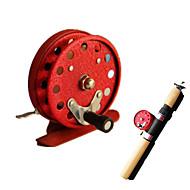 billige Fiskeri & Jagt-Isfiskehjul Flue Hjul Isfiskehjul 1:1 0 Kuglelejer Højrehåndet Fluefiskeri Isfikeri Generel Fiskeri - 806