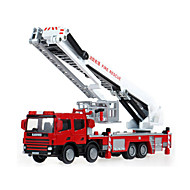 KDW Speelgoedauto's Speeltjes Brandweerwagen Speeltjes Vrachtwagen Metaal Klassiek & Tijdloos Chic & Modern 1 Stuks Kinderen Jongens