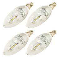 E14 LED Λάμπες Κεριά C37 32 SMD 3014 250 lm Θερμό Λευκό 3000 κ Διακοσμητικό AC 220-240 AC 100-240 110-120 V