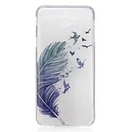 お買い得  Samsung 用 ケース/カバー-ケース 用途 Samsung Galaxy J7 Prime / J5 Prime 超薄型 / パターン バックカバー 羽毛 ソフト TPU のために J7 Prime / J5 Prime / J3 Pro
