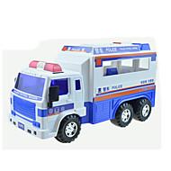 お買い得  -Lili 自動車(カムギア式/ゼンマイ式) プルバック式乗り物おもちゃ 建設車両 軍用車両 パトカー 救急車 車載 アイデアジュェリー クラシック・タイムレス 男の子 女の子 おもちゃ ギフト