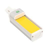 Χαμηλού Κόστους LED Λάμπες Καλαμπόκι-1pc 8W 600-700 lm G24 LED Λάμπες Καλαμπόκι 1 leds COB Διακοσμητικό Θερμό Λευκό Ψυχρό Λευκό 2800-3200/6000-6500K AC 85-265V