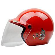 古い3-12年のためのゼウスとして-201オートバイの子供ヘルメットハーフヘルメット腹筋