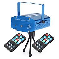 お買い得  -U'King LEDステージライト パータブル 取り付けやすい リモコン操作 音検知 グリーン レッド