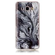 お買い得  Samsung 用 ケース/カバー-ケース 用途 Samsung Galaxy J7(2016年) / J5 (2016) IMD / パターン バックカバー マーブル ソフト TPU のために J7 (2016) / J7 / J5 (2016)