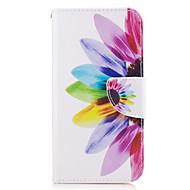 tanie Etui / Pokrowce do Samsunga Galaxy A-Kılıf Na Samsung Galaxy A5(2017) A3(2017) Portfel Etui na karty Z podpórką Flip Futerał Kwiaty Twarde Sztuczna skóra na A3 (2017) A5