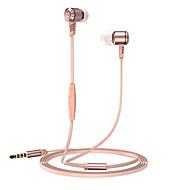 povoljno -langsdom Langsdom M410 U uhu Žičano Slušalice Dinamičan Aluminum Alloy mobitel Slušalica S mikrofonom Slušalice