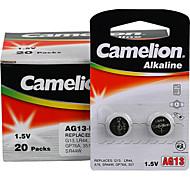 Camelion AG13 mynt knappcelle alkalisk batteri 1.5v 40 pakken