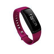 Smart Monitor muñequera podómetro del ritmo cardíaco pulsera inteligente de la presión arterial SmartBand la aptitud del bluetooth para el