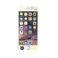 για Apple iPhone 6 plus / 6s συν 5,5 ιντσών γυαλί με μαλακό άκρο πλήρη κάλυψη της οθόνης μοτίβο μπροστά προστατευτικό οθόνης κινουμένων