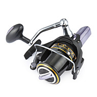 cheap Fishing Accessories-Fishing Reel Spinning Reel 4.1:1 Gear Ratio+14 Ball Bearings Hand Orientation Exchangable Sea Fishing