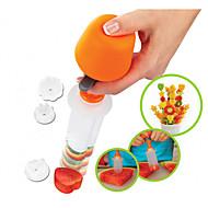 お買い得  キッチン用小物-キッチンツール プラスチック クリエイティブキッチンガジェット DIYの金型 フルーツのための